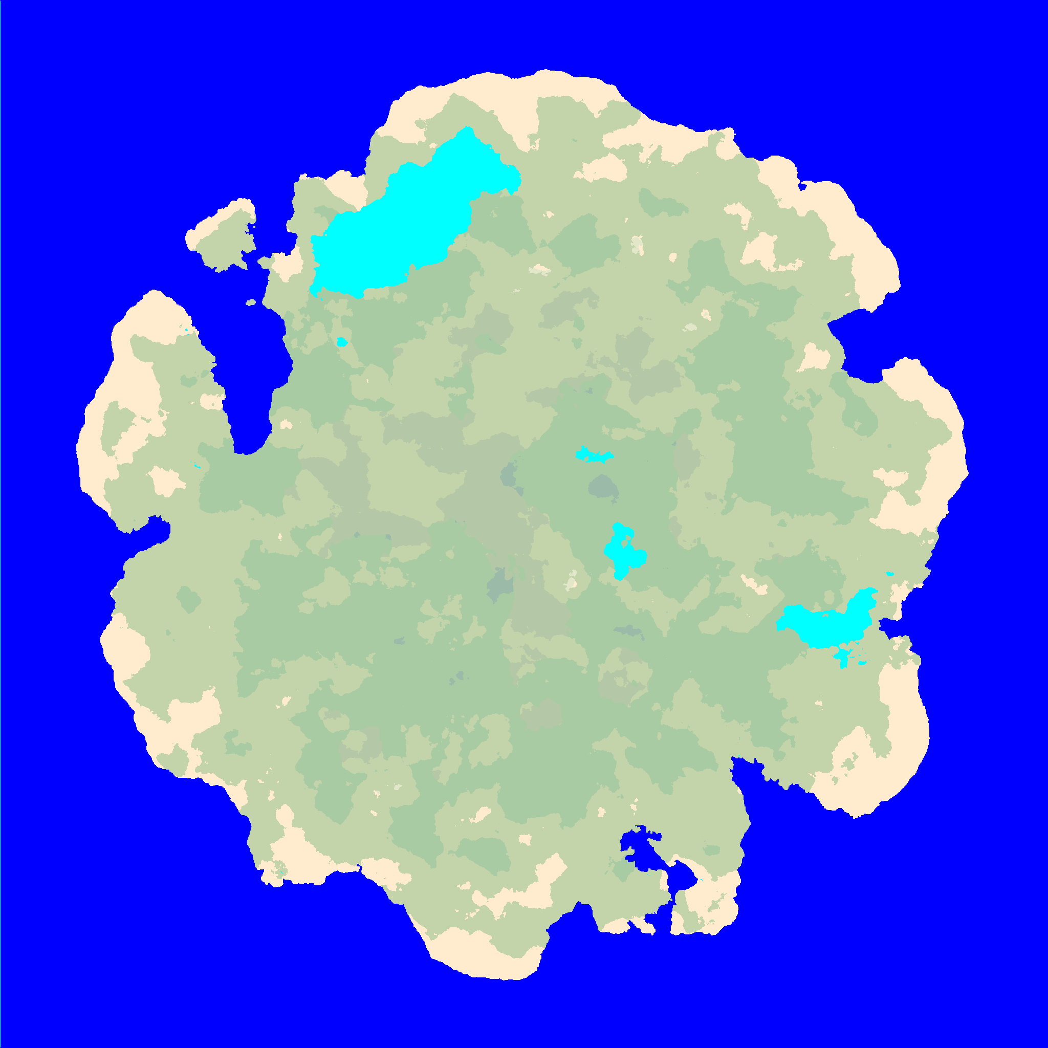Procedural island generation i also automatically assign unique salt water biome to water connected to the edge of the map and fresh water to closed bodies of water such as lakes gumiabroncs Choice Image